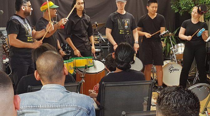Drum performance – Jan 27