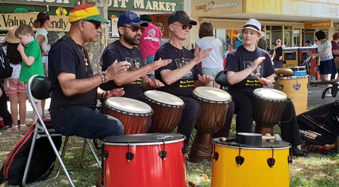 Free drum class in African and Latin drumming -3/9/19