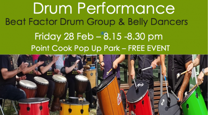 drum group performance-28 Feb