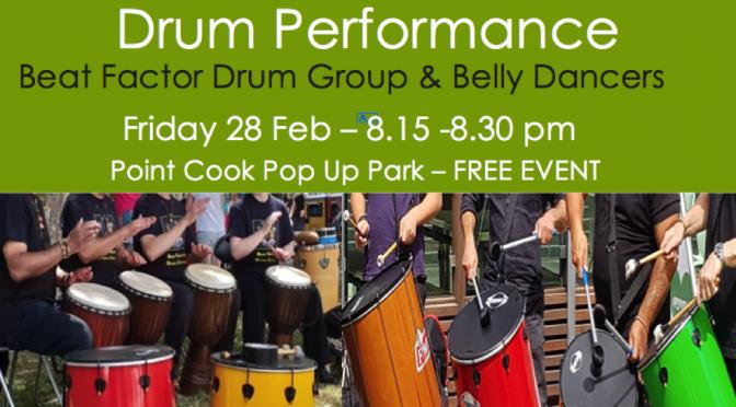 drum group performance-28 Feb