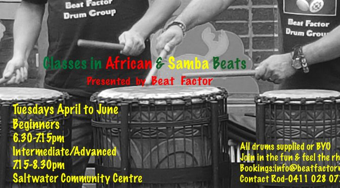 African & SAMBA Beats- 2021 Classes